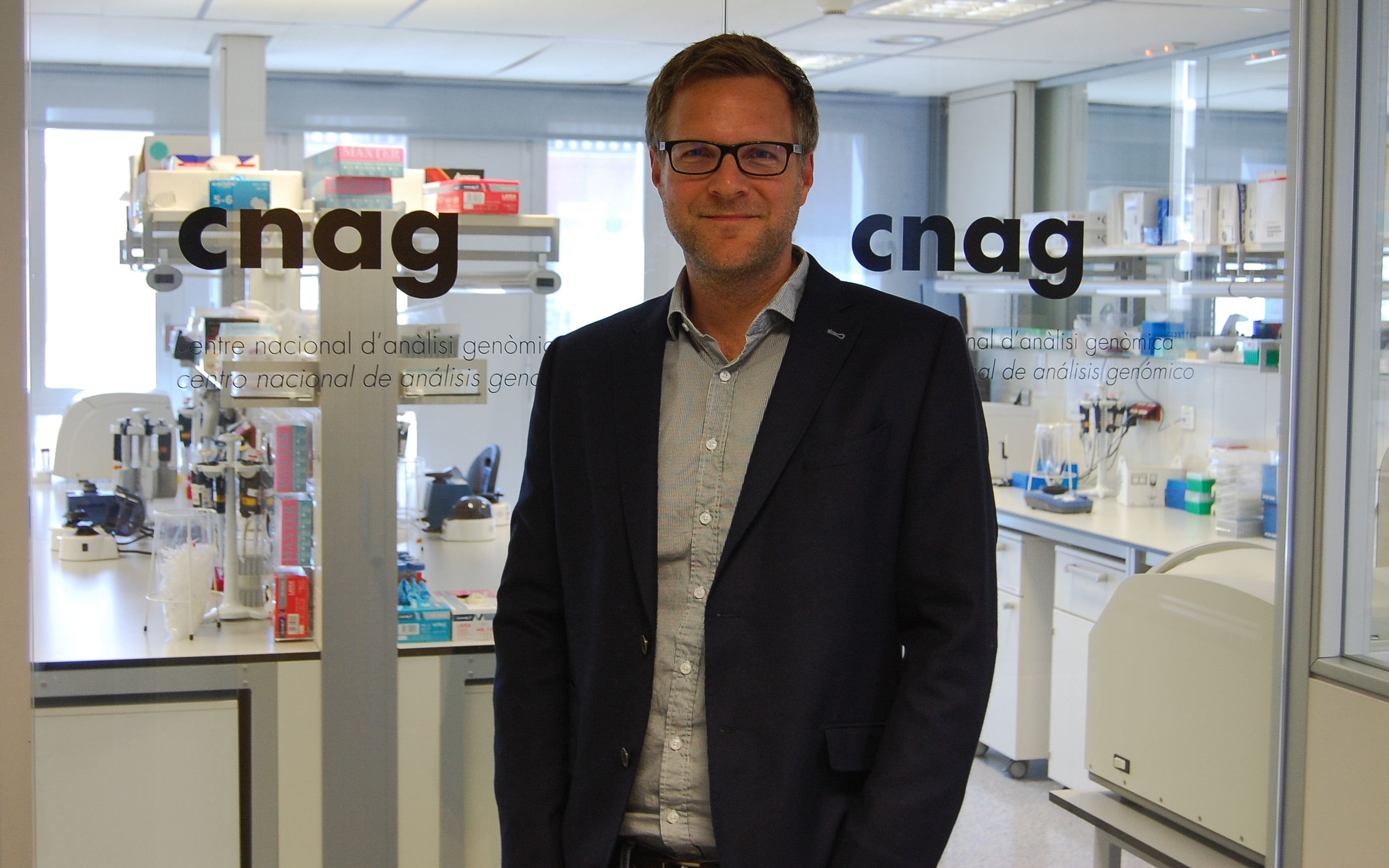 Image: Dr. Holger Heyn, leader of the CNAG-CRG Single Cell Genomics team